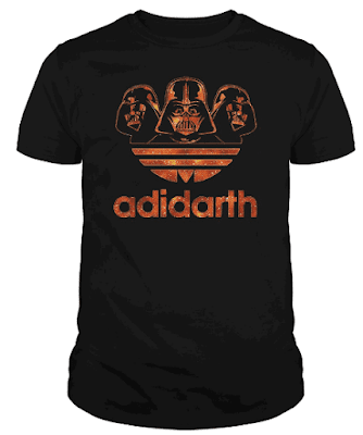 Adidarth T Shirt Hoodie Sweatshirt - Adidas Darth Vader Star Wars Movie for Men, Women and Kids