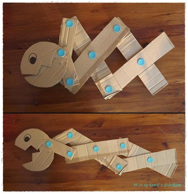 zabawki z kartonów, Makedo