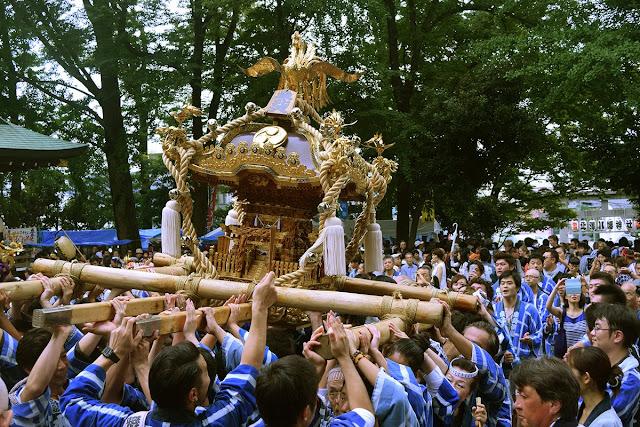 Kitazawa Hachiman Shrine Reitaisai, Shimokitazawa, Tokyo