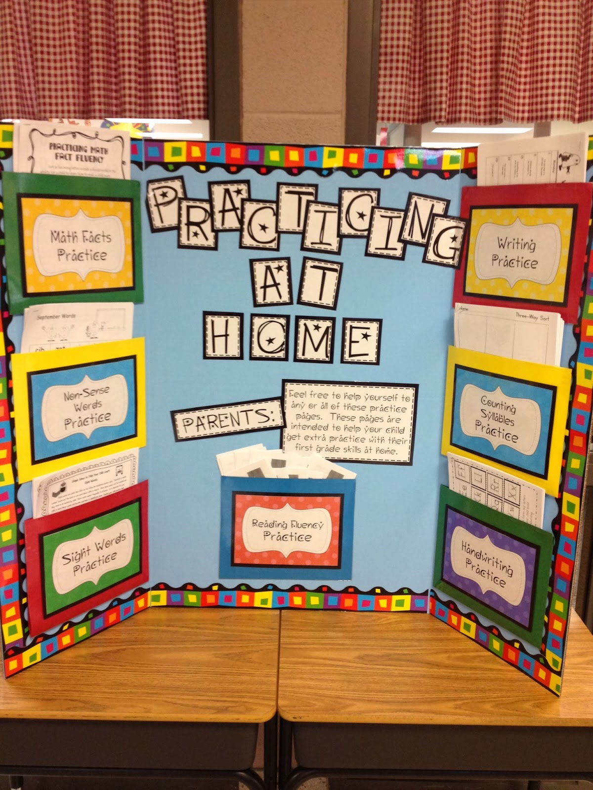 Ready For Parentteacher Conferences on outside bulletin boards