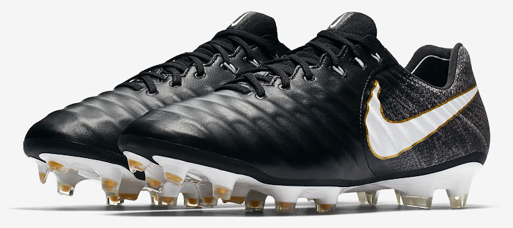 cheap for discount 60eae 9e95b Black / White / Gold Nike Tiempo Legend Pitch Dark Boots ...