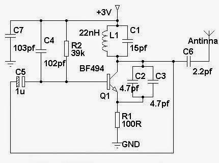 Schéma de câblage simple téléphone portable brouilleur