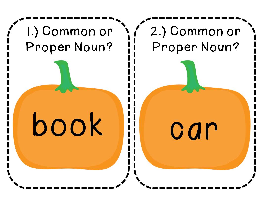 Proper Nouns Games 1st Grade