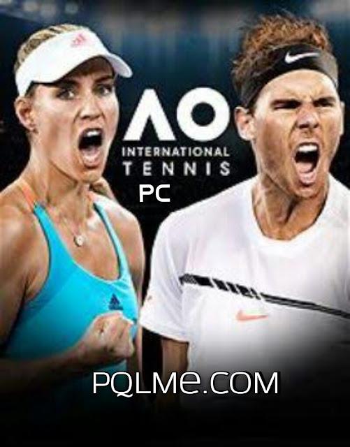 تحميل لعبه AO International Tennis PROPER 2018 للكمبيوتر