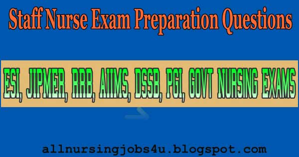 ESIC Staff Nurse Model Question Paper Pdf Free Download ...