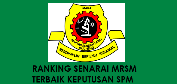 Senarai MRSM Terbaik 2017 Keputusan SPM 2016