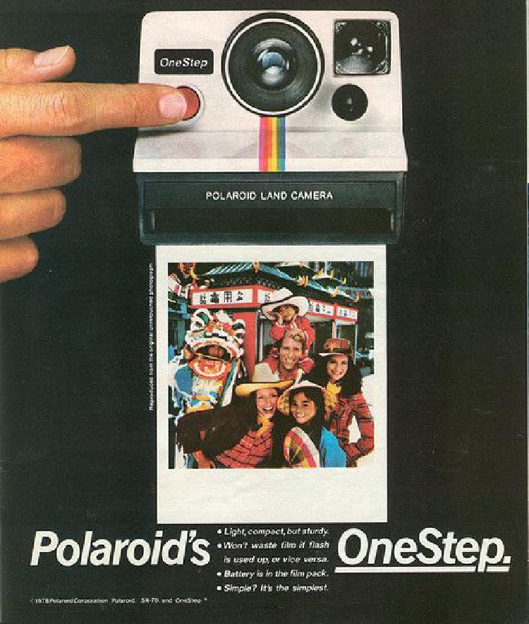 A Vintage Nerd, Vintage Blog, Polaroids, Vintage Polaroids