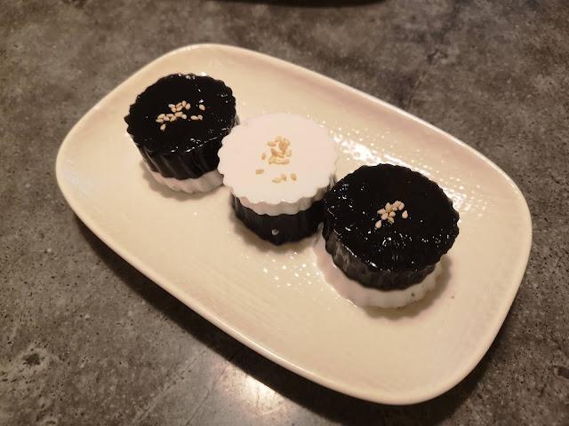 黑芝麻奶冻
