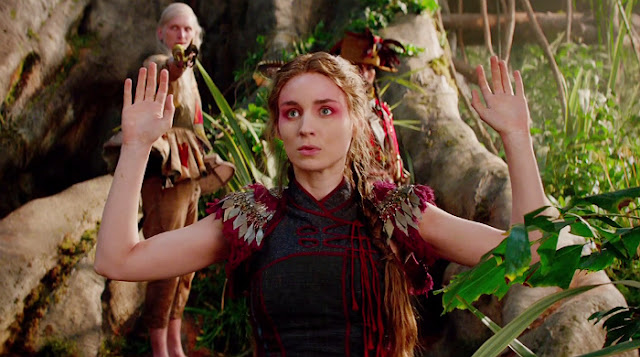 Tiger Lily ou Tigrinha, figurino Peter Pan filme 2015, roupa