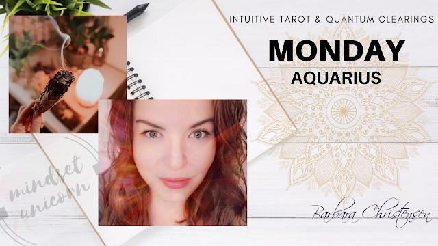 Aquarius Love Tarot Reading June 1 - 7, 2020 : Clearing Energy & Belief, New Beginning