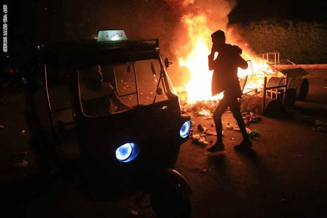 ترامب يعيد نشر فيديو من محاولة اقتحام قنصلية إيران في كربلاء .. شاهد التفاصيل