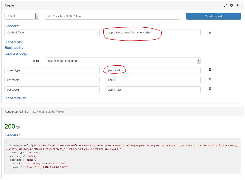 ASP NET MVC: OAuth 2 0 REST Web API Authorization using