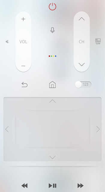 Smart View Samsung TV remote control