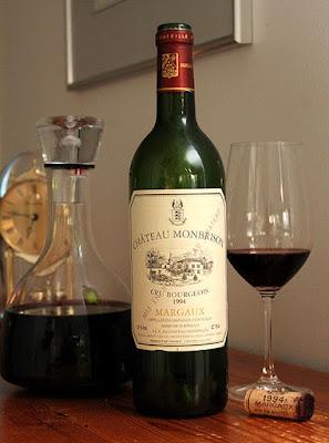 Punaviini Chateau Monbrison - arvokkaasti ikääntynyt ranskalainen, Viinihetki