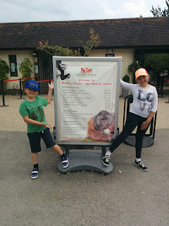 Prices at Monkey World