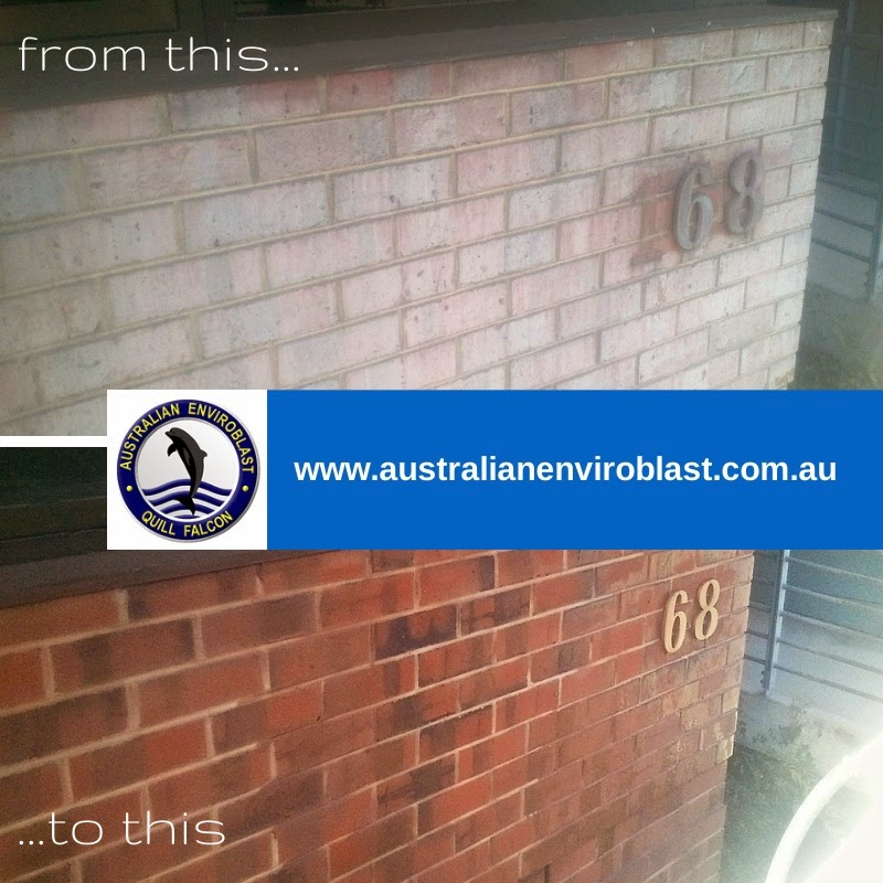 Concrete cleaning and brickwork cleaning can all be done accomplished with abrasive blasting