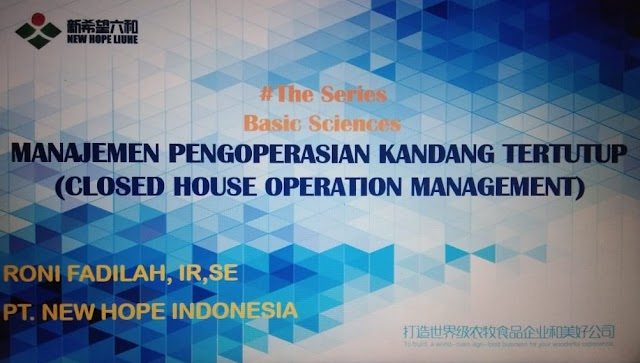 Closed House Operation Management