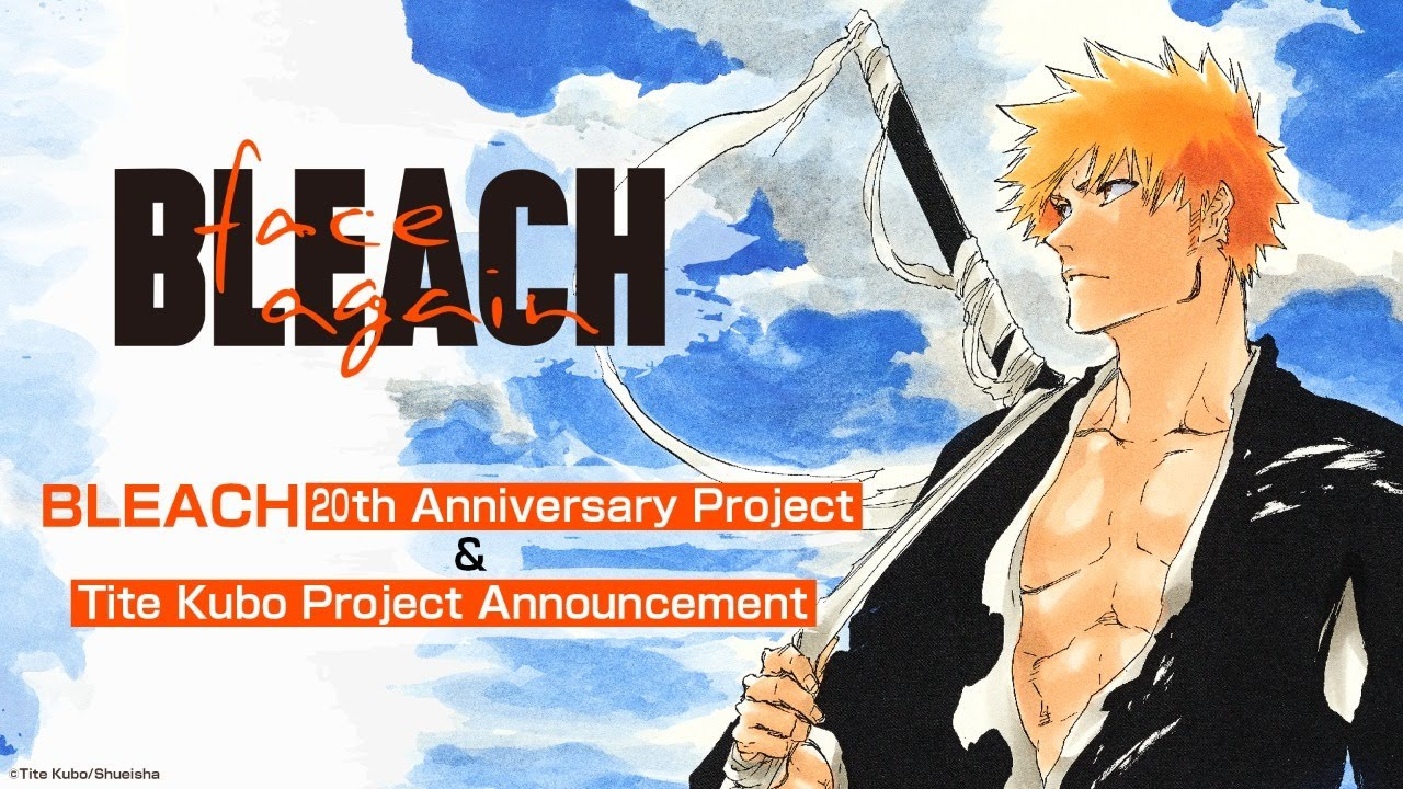 Bleach Creator Kubo Tite Will Reveal His New Manga on March 21 in Live Steamed Event
