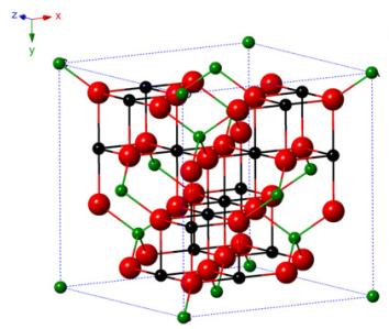 Struktur spinel Magnetit