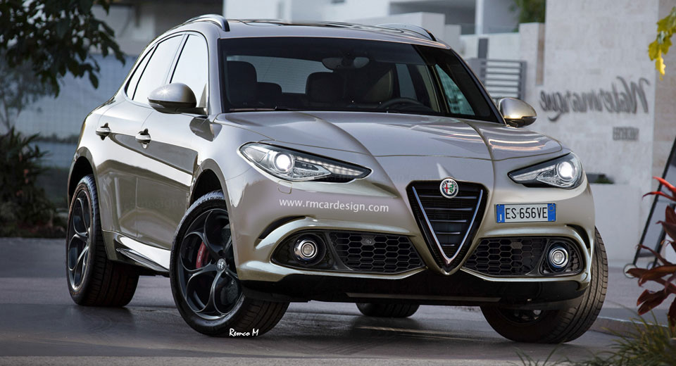 Alfa Romeo Stelvio SUV to debut at 2016 LA Auto Show