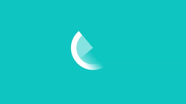 Pure CSS Spinning Loading Animation
