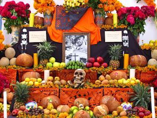 altar de muertos méxico