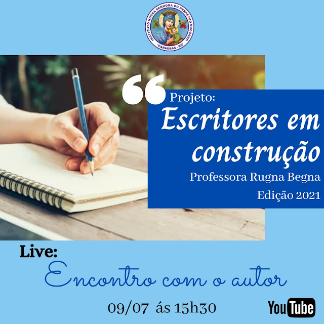 Projeto de professora incentiva alunos a produção de livros literários em Caraúbas
