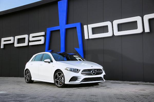 Mercedes A35 AMG obtém 400 cv e 550 Nm com atualização