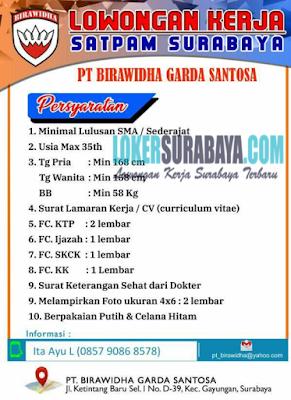 Rekrutmen Lowongan Kerja SMA/SMK Sederajat Surabaya Januari 2020
