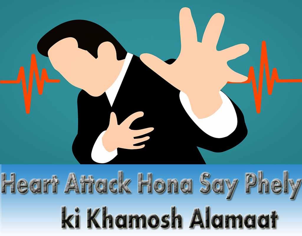Heart Attack ki Alamat