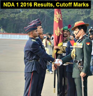 NDA 1 2016 Results and Cutoff Marks