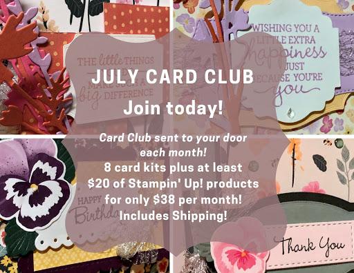 July Card Club