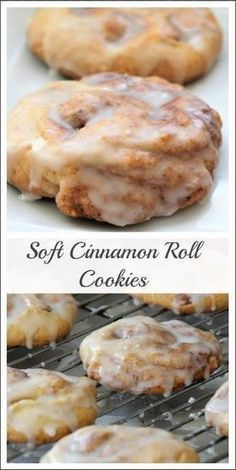 Monster Cinnamon Roll Cookies