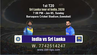 Who will win Today T20 I, 1st T20 Match Ind vs SL - Cricfrog