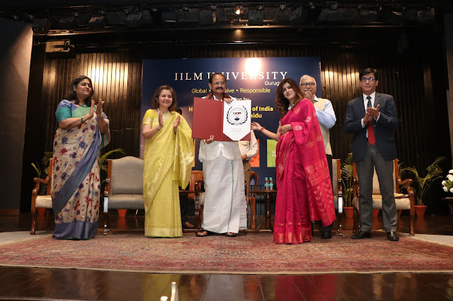 Release of IILM University Seal by Hon'ble Vice President Of India
