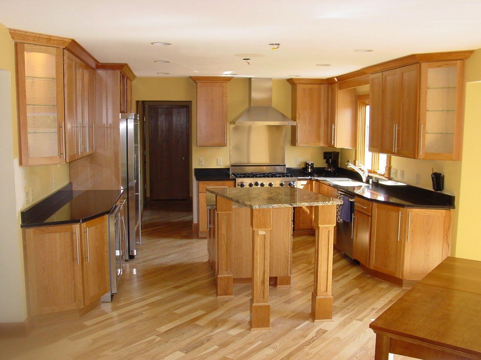 Fotos y dise os de cocinas en madera ideas para decorar for Imagenes de decoracion de cocinas