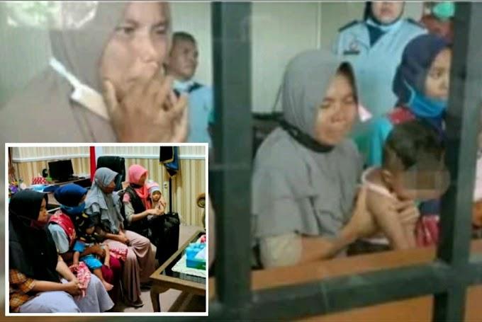 Lempar Pabrik Rokok, 4 Ibu Rumah Tangga Ditahan