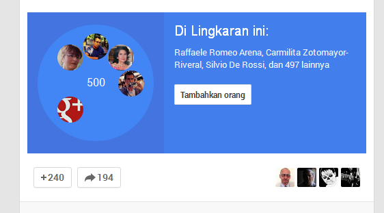 Cara Memperbanyak Followers Google Plus