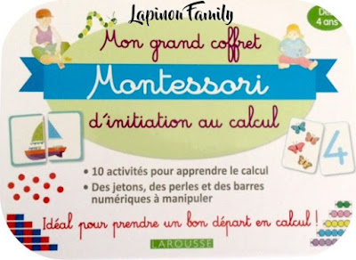 grand coffret montessori initiation calcul