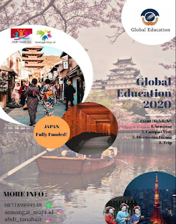 Pertukaran Pemuda Global Education Japan 2020