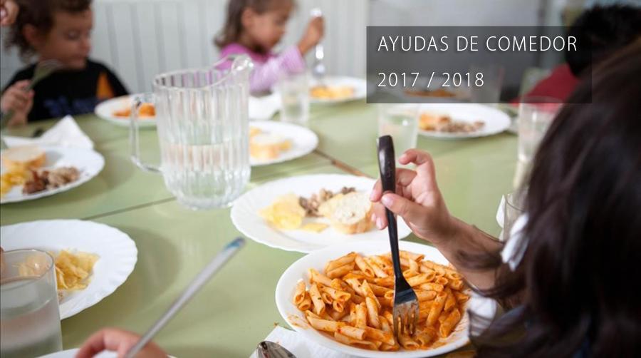 AYUDAS DE COMEDOR 2017/2018 - CEIP COMARCAL AZORÍN