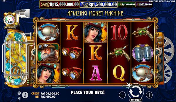 Main Gratis Slot Indonesia - The Amazing Money Machine Pragmatic Play