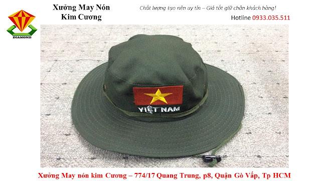 May nón tai bèo số lượng lớn ở Bình Phước