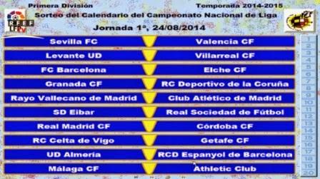 Calendario Celta Vigo.Calendario Liga 2014 2015 Calendario Serie A Spagnola 2014 2015