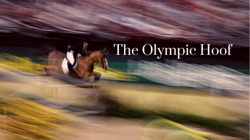 The Olympic Hoof barefoot showjumper