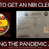 How to Get an NBI Clearance During the Pandemic / GCQ