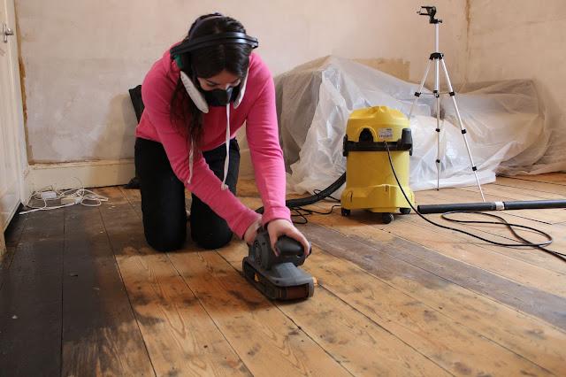 DIY floorboard restoration