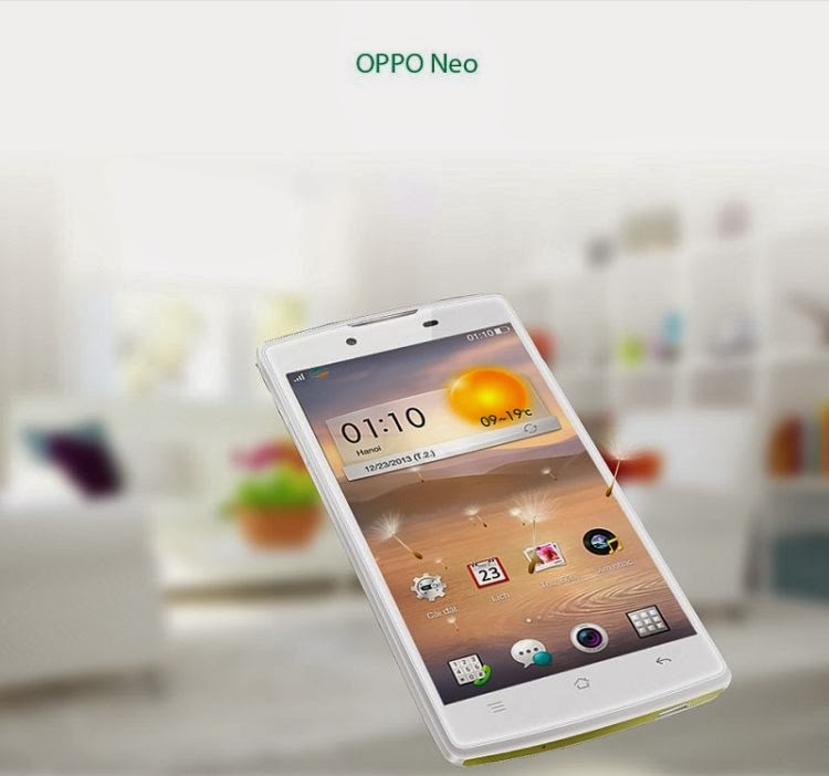 Oppo Neo : Android 4.2 with Dual-Core Processor Launched
