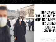 Things You Should Have In Your Bag When Travelling During Covid-19