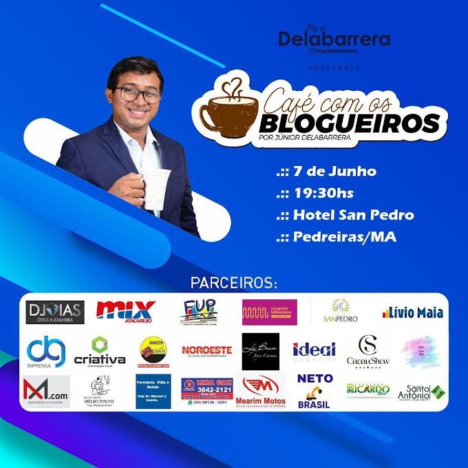 Vem aí o grande evento Café com os Blogueiros ......